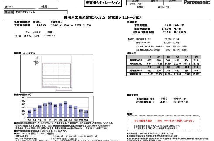 メンテナンス日記vol.83(滋賀県T様邸)