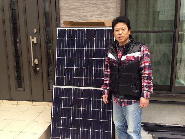 木津川市 Y様邸にて太陽光取り付け工事を行いました。