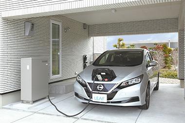電気自動車(EV)&V2H事業