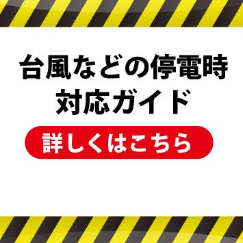 台風19号における対策ガイド