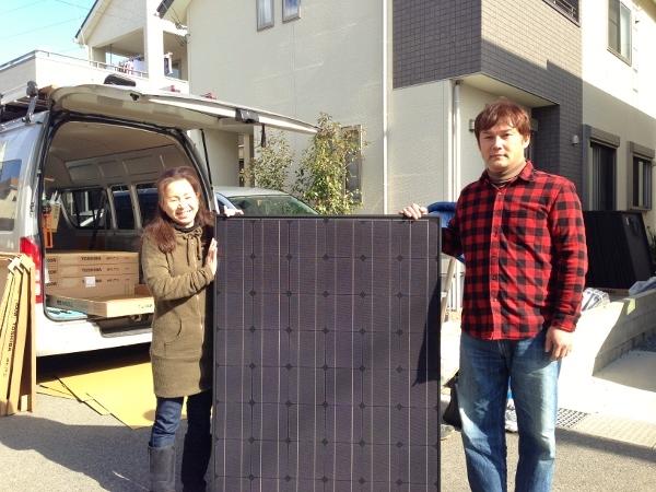 神戸市 T様邸にて太陽光取り付け工事を行いました。
