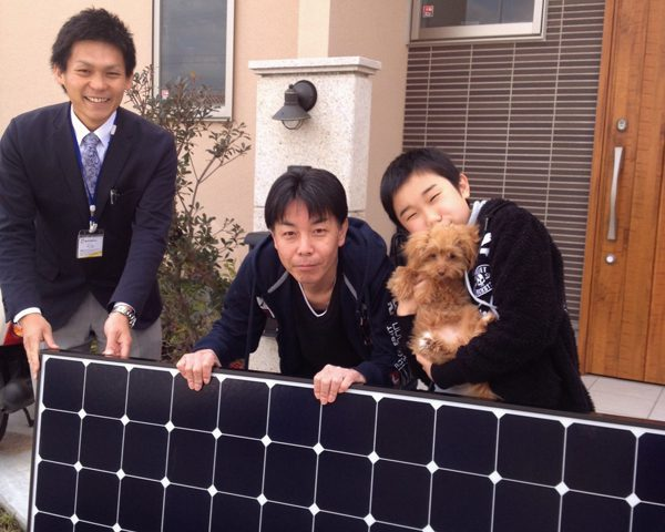 橋本市 T様邸にて太陽光取り付け工事を行いました